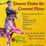 ANAR DANA & Helene Eriksen present Dances Under the Crescent Moon