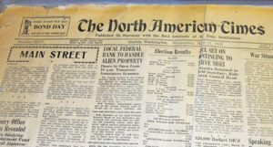 North American Times newspaper © 2013, courtesy of Hokubei Hochi Foundation