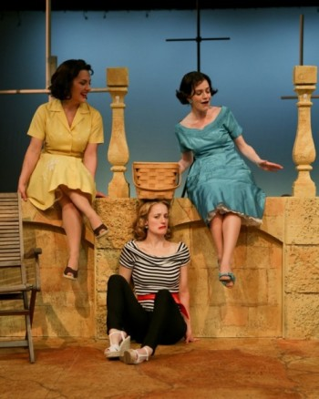 Zandi Carlson as Ursula, Jennifer Lee Taylor as Beatrice, and Brenda Joyner as Hero