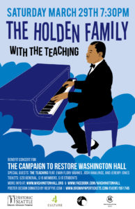 Featured image for Saturday Concert to support the renovation of Washington Hall